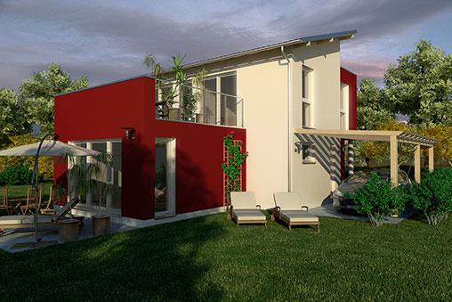 Massivhaus modern  Häuser - SELECT Massivhaus GmbH