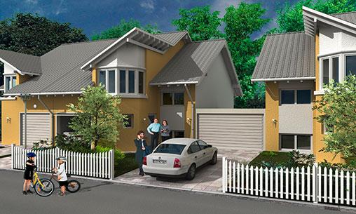 Grundriss Zeichnen Balkon : Häuser  SELECT Massivhaus GmbH